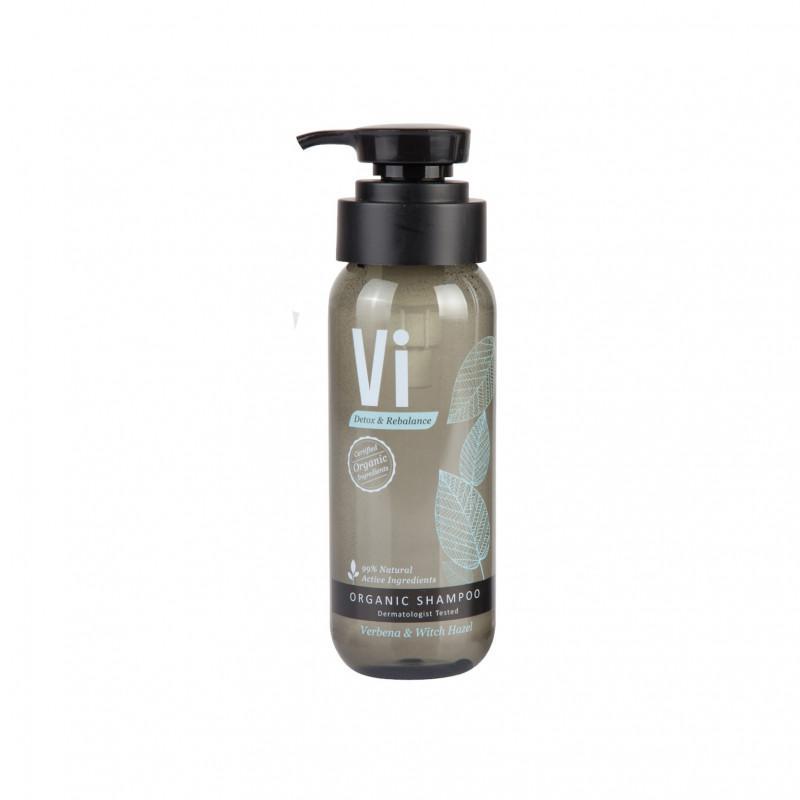 Vi Verbena & Witch Hazel Detox & Rebalance Organic Shampoo, 250 ml