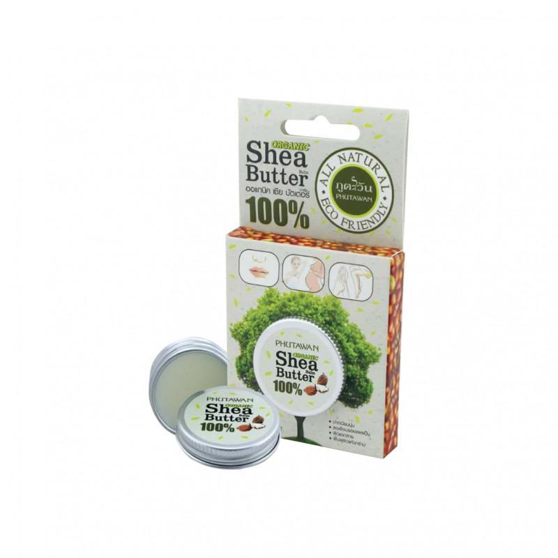 PHUTAWAN l Organic Shea Butter 100% 10 g.