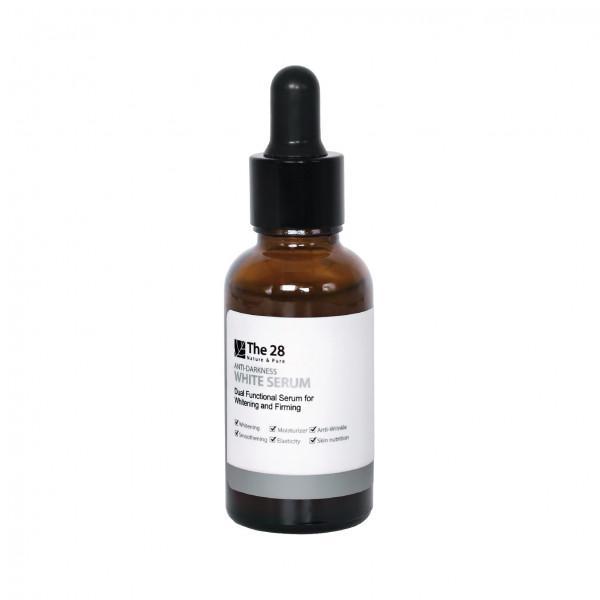 The 28 l Anti-Darkness White Serum 30 ml.