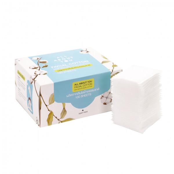 All About You - Facial Cotton 100 sheets