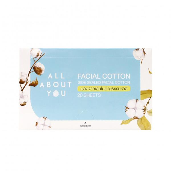 All About You - Facial Cotton 20 sheets