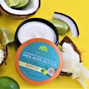 Tree Hut - 24-Hour Intense Hydrating Shea Body Butter Coconut Lime 198 gm.