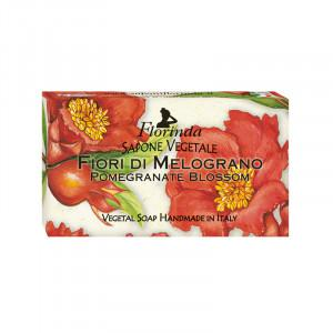 Florinda   POMEGRANATE BLOSSOM VEGETAL SOAP