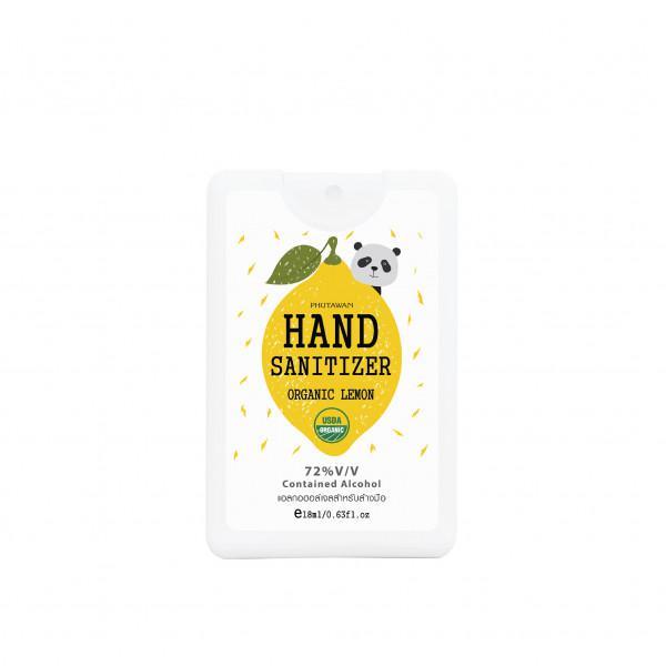 Phutawan   Organic Lemon Hand Sanitizer 18 ml.