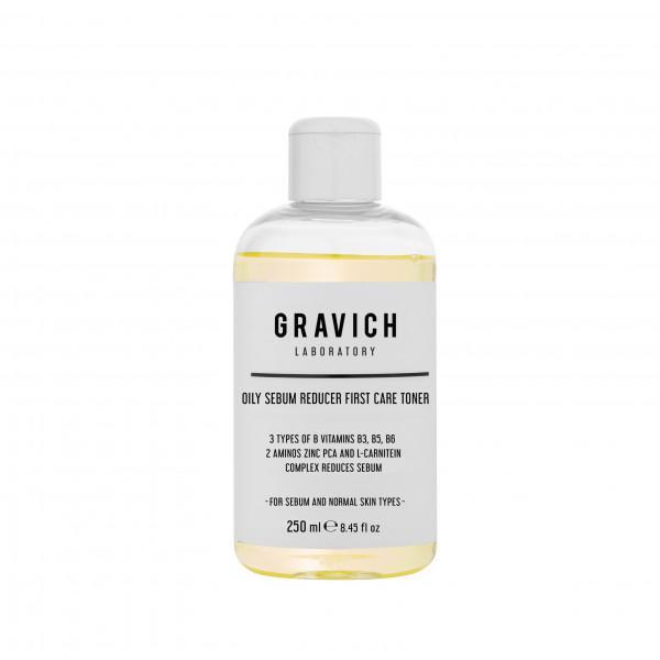 Gravich   Oily Sebum Reducer First Care Toner 250 ml.